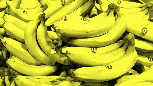 Bananas, inspired by Andy Warhol